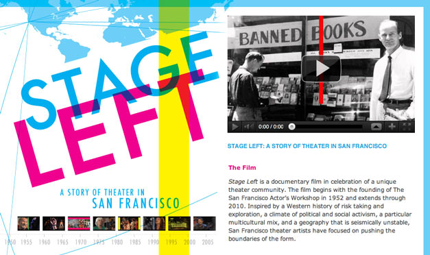 Stage Left: A Story of Theater in San Francisco